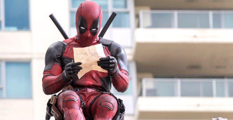 #Deadpool estreno viernes 19/02/16 https://t.co/G7hadfi162