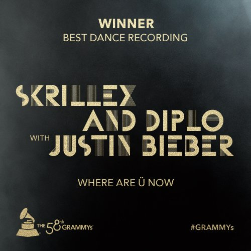 ".@justinbieber, @diplo, @Skrillex wins Best Dance Recording for ""Where Are Ü Now"" https://t.co/f91C9h1F1v"