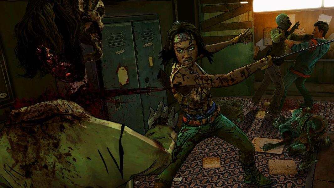 Check out the gameplay video for Telltale's upcoming new Walking Dead game. https://t.co/CFVxpAeZSZ