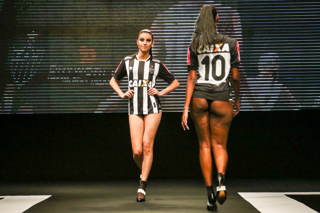 Atletico Mineiro have released their new shirts using Brazilian models in their underwear