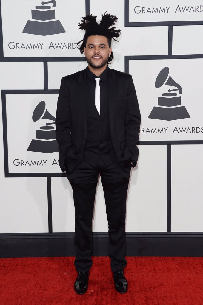 the weeknd's hair is higher than my grades #Grammys2016 https://t.co/qVsOqvpwc4