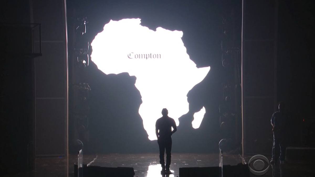 how soon until those 'Compton/Africa' tees go on sale? Someone's looking for that font as we tweet lol https://t.co/aF7oU9cllF