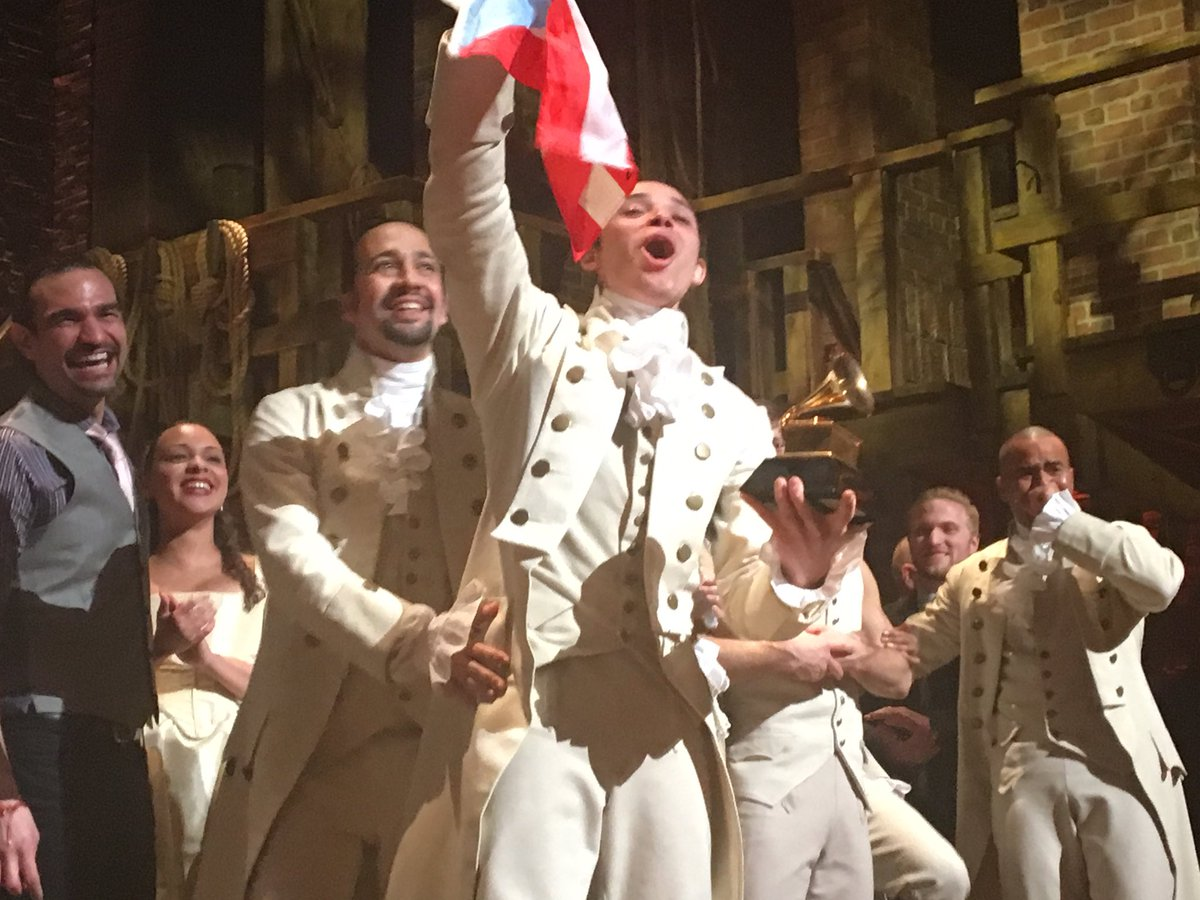 Anthony Ramos and @Lin_Manuel at #Gram4Ham https://t.co/UpaqFpM6NP