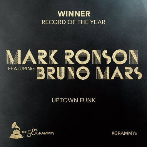 Congrats Record Of The Year @MarkRonson featuring @BrunoMars - 'Uptown Funk' #GRAMMYs https://t.co/eXWlp79Z3J