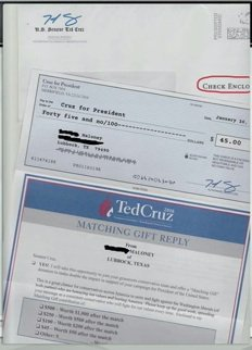 Ted Cruz Caught Sending Fake Government Checks to Voters in Texas https://t.co/bBMc6VNp9j #p2 #AINF #TNTVote https://t.co/rQeulAK3Sj