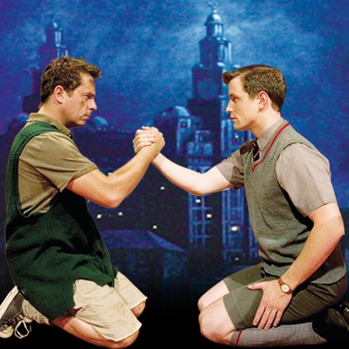 blood brothers eddie analysis Need help with act 1 in willy russell's blood brothers check out our revolutionary side-by-side summary and analysis.