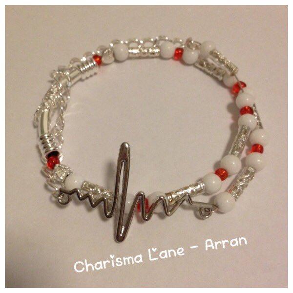 Charisma Lane Arran On Twitter My Handmade Chd Awareness Bracelets Now Etsy X Https T Co Q1e9d1w0se