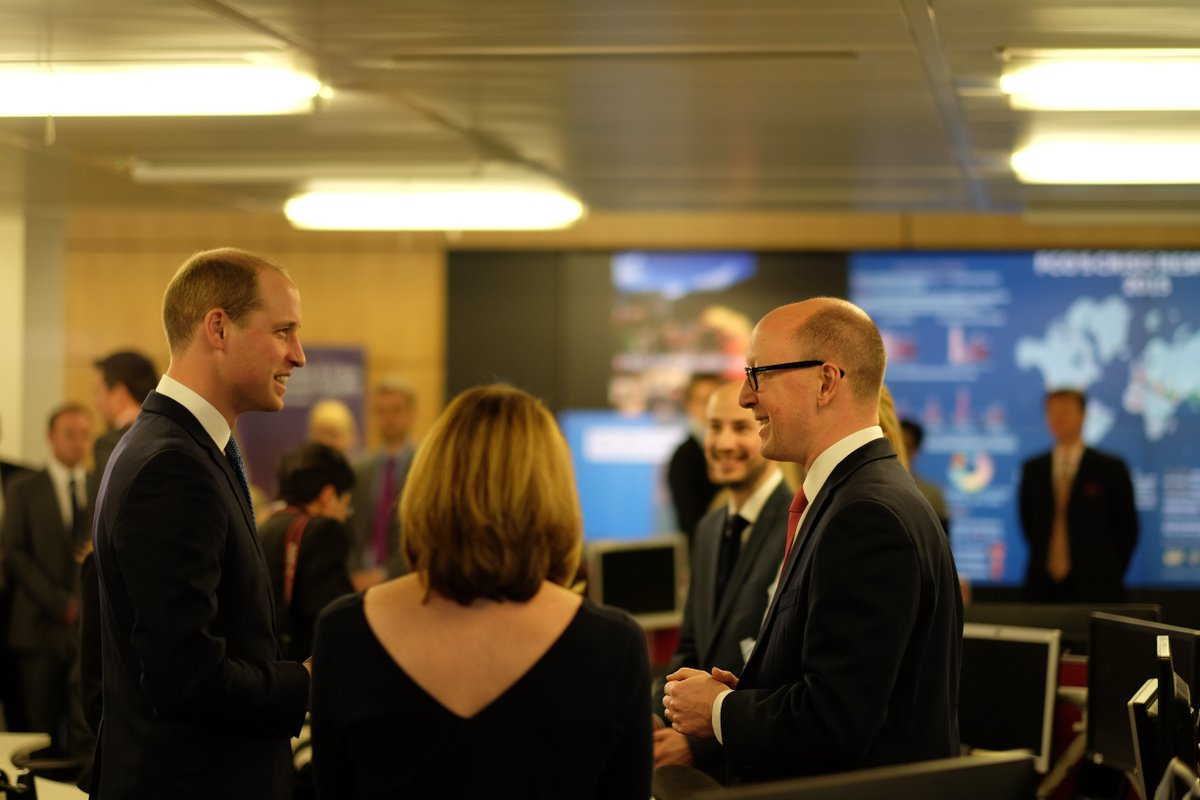 The duke visits the foreignoffice crisis centre launched for Consular services