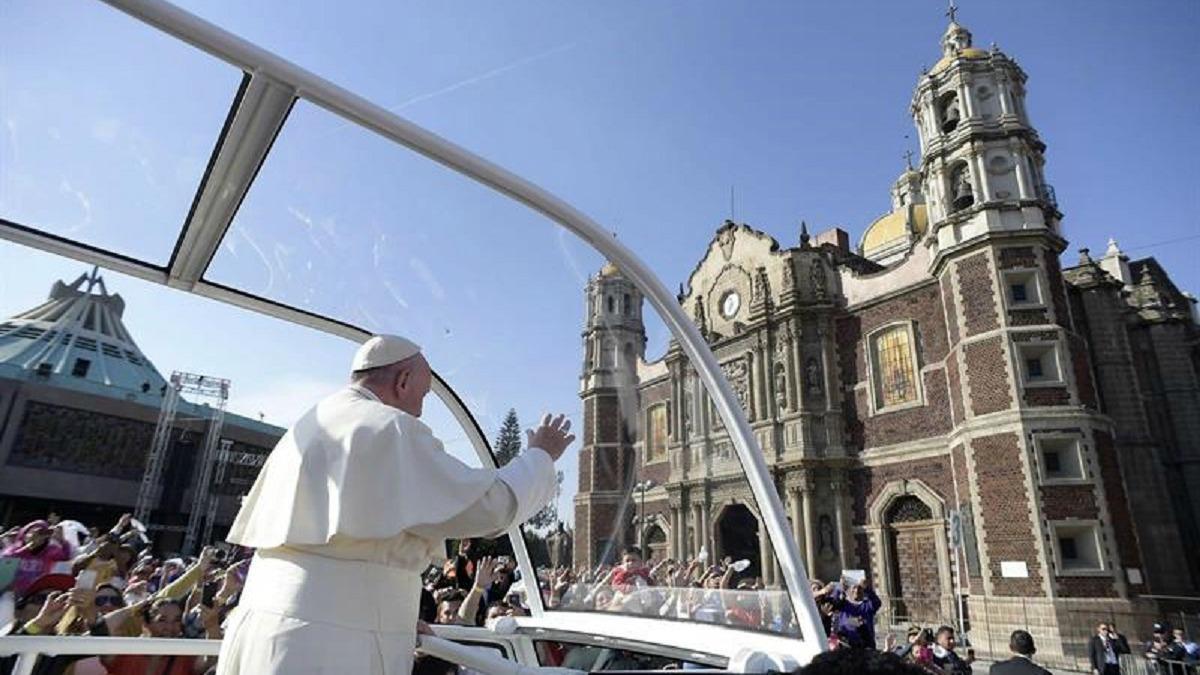 El Papa Francisco: En vivo: El Papa Francisco llega a