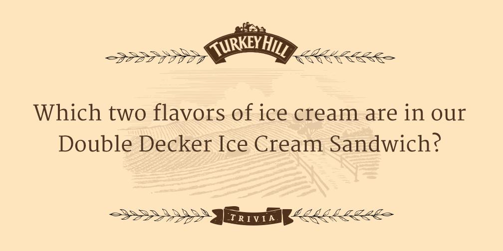 It's time for some trivia! Answer by 5 to #win some FREE ice cream. #THTrivia https://t.co/wEZEIP2zXU