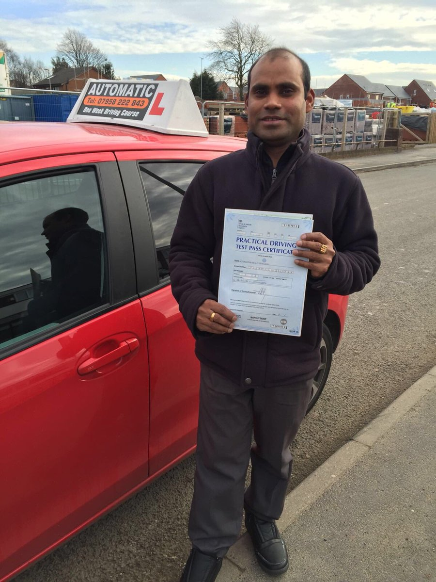 Well done Jay for passing your test #automaticdrivinglesson #failsworthdrivingtestcenter