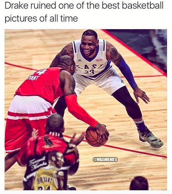Nba Memes On Twitter Get Out Of There Drake Https T Co Mp4vbd1igp