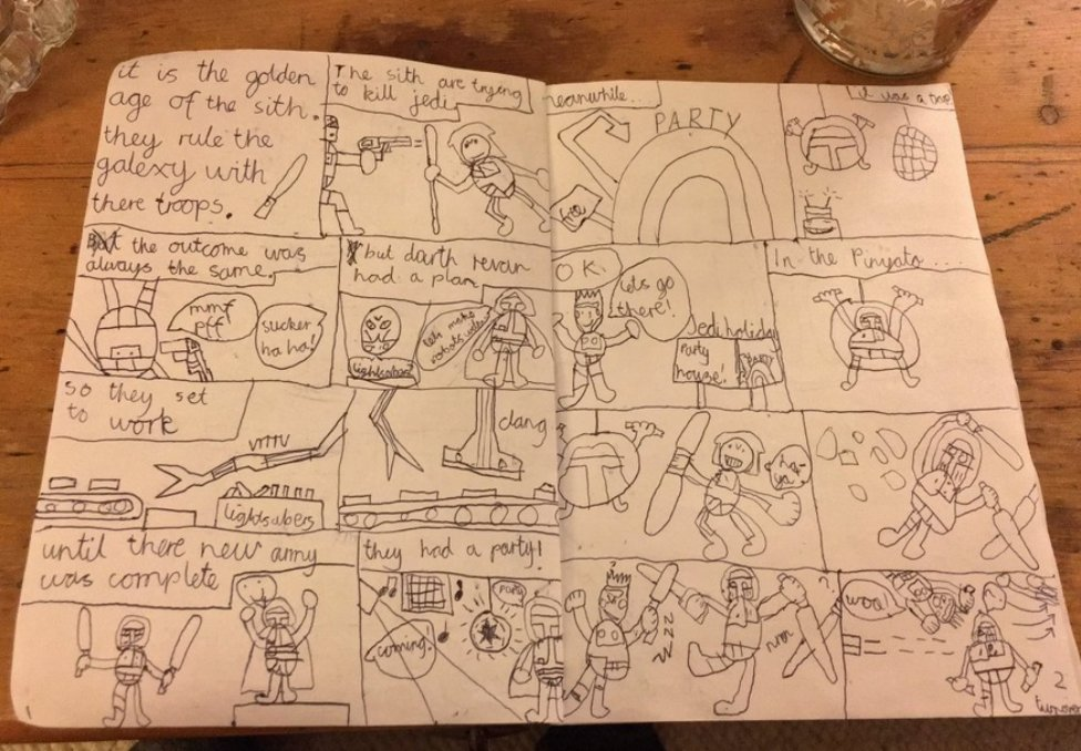 Can you help get this hand-drawn comic found in Cambridge back to its rightful owner - via @hanna_louise https://t.co/IQL2fnzyhz