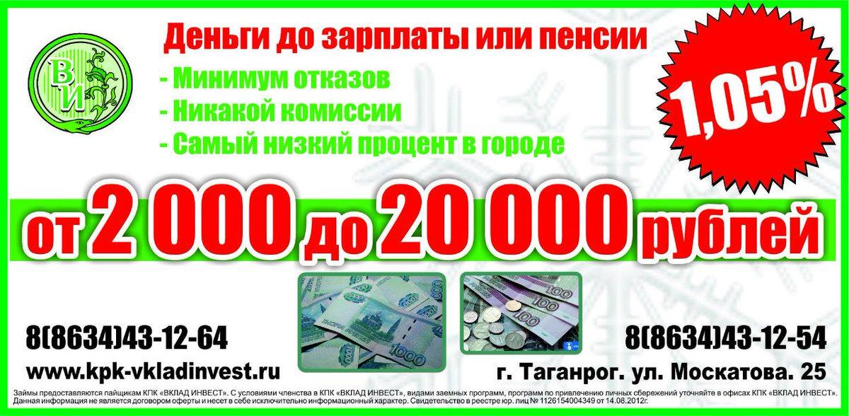 Деньги срочно 20000