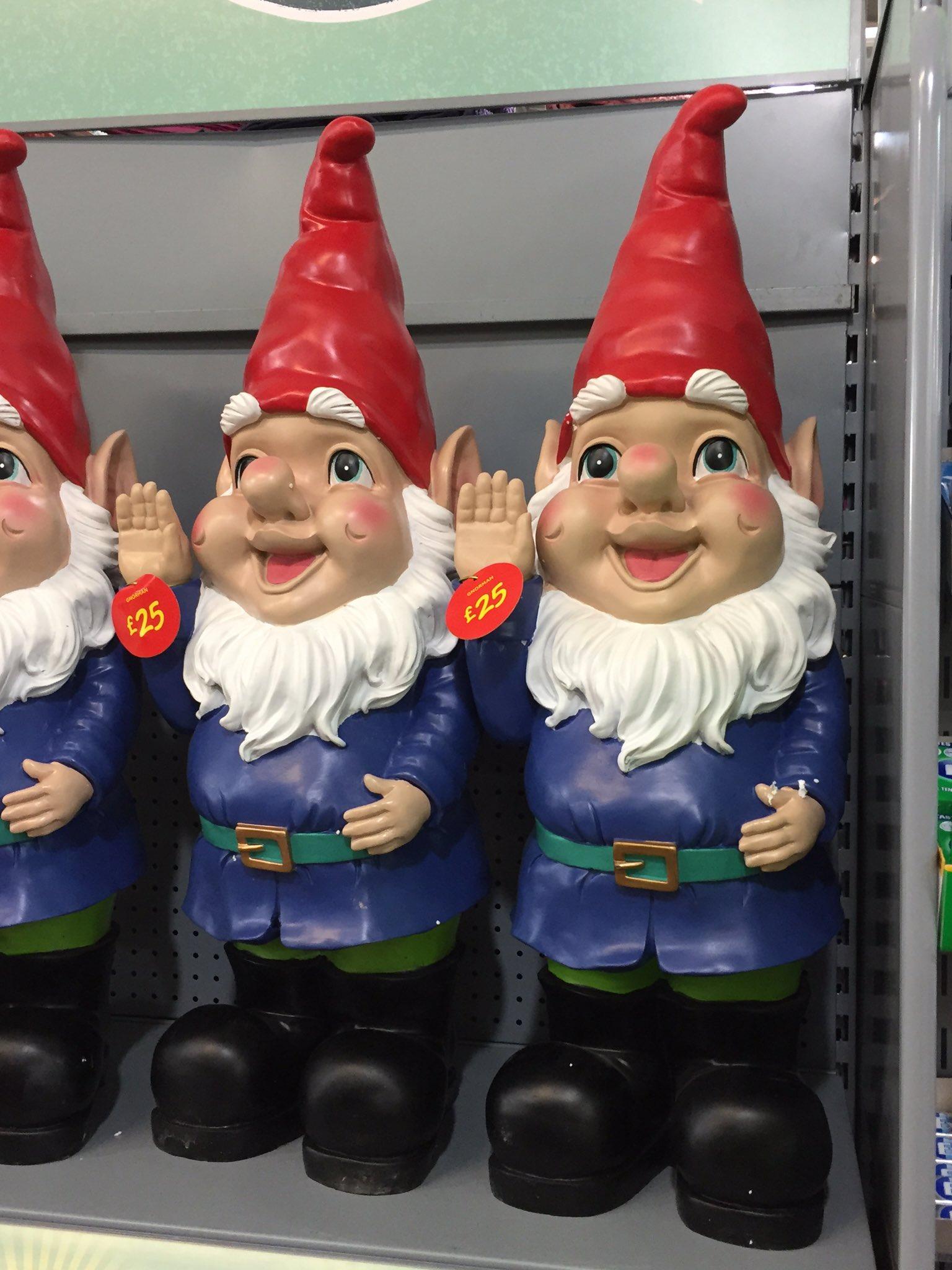"Gnome In Garden: MJC Glesga On Twitter: ""That's Asda Got The Nazi Saluting"