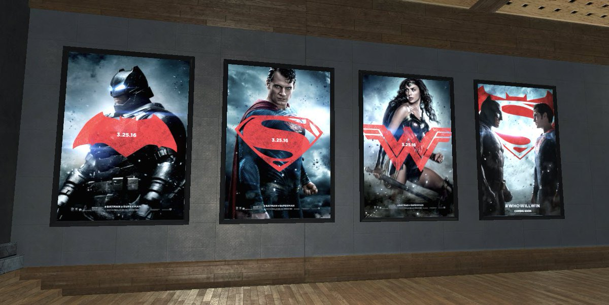 We are getting our lairs ready for @BatmanvSuperman! #WhoWillWin https://t.co/OTcPmtGZSI