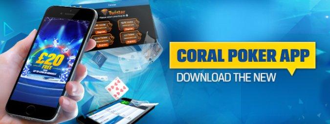 coral poker app