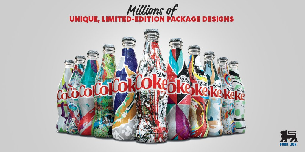 Collect your favorite @DietCoke #ITSMINE designs at your local Food Lion. https://t.co/B1k1Kq38vk https://t.co/UObxhs8Jsr