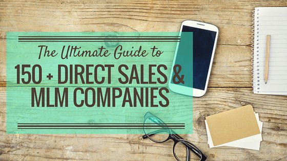The Ultimate Guide to Researching 150+ Direct Sales and MLM Companies for 2016 https://t.co/qRPXN31qbx https://t.co/j6DKOAfIkk