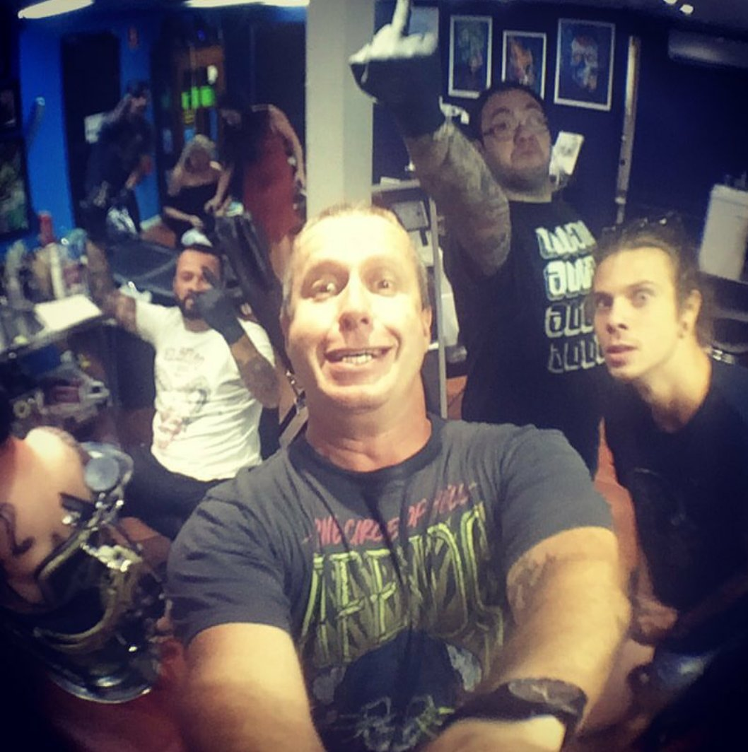 Manly Tattoo open from 10am -7pm everyday!  Come on in ......pic.twitter.com/IO5K2oZDTV