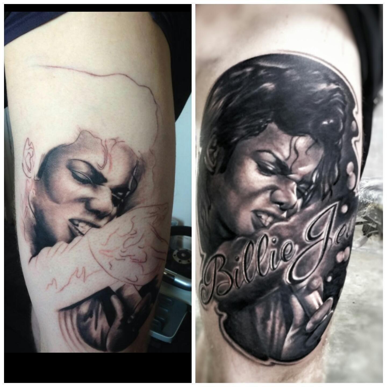 """Jay Hutton Tattoo Fixers: Jay Hutton On Twitter: """"Michael Jackson Fix Done On"""