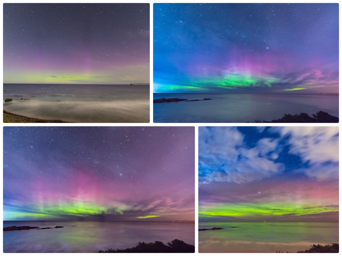 scenes from last night's #AuroraAustralis from #Dunedin New Zealand @TamithaSkov @SussanSays @Lovedunedin https://t.co/Zcaw2MPPhw