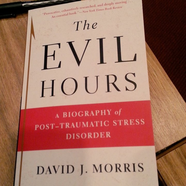 This is David J. Morris' s book: #PTSD https://t.co/y7sIwGCfxM