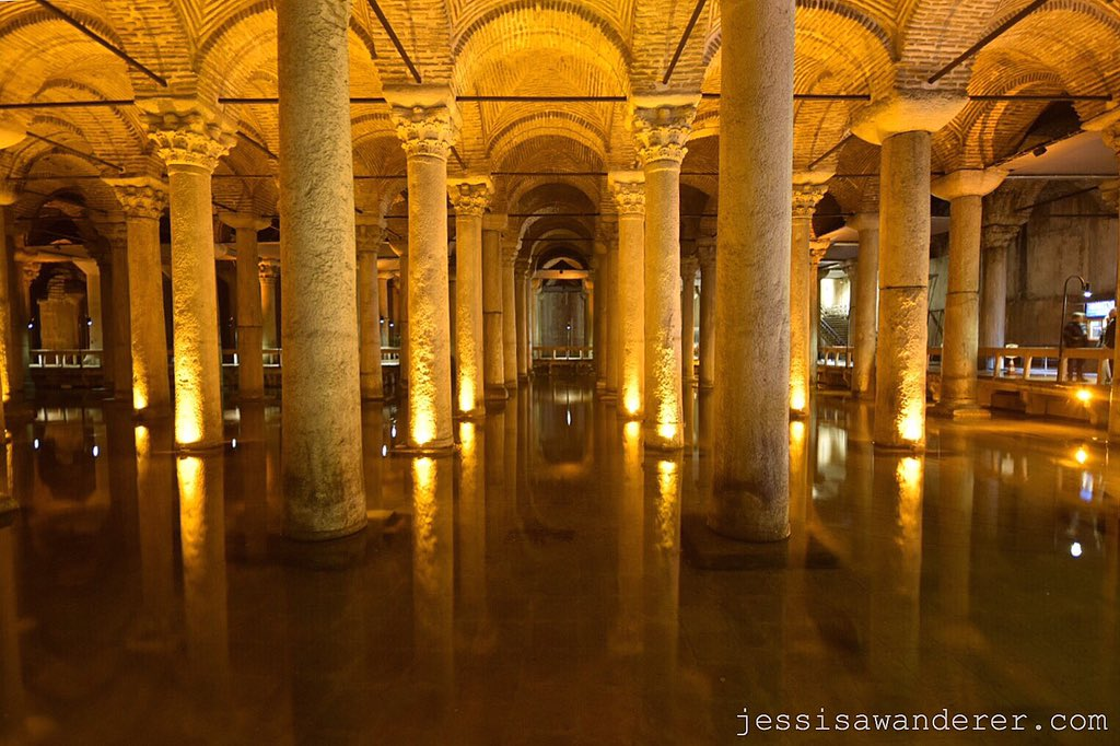Istanbul cisterns