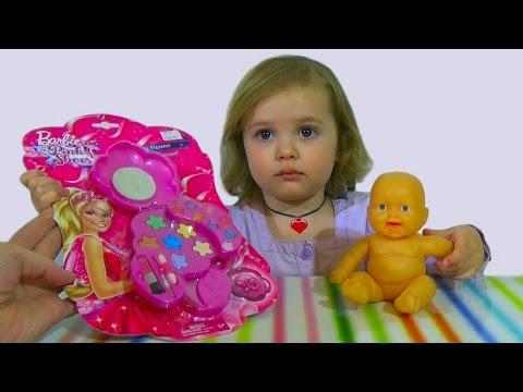 набор детской косметики для девочек в чемоданчике в спб