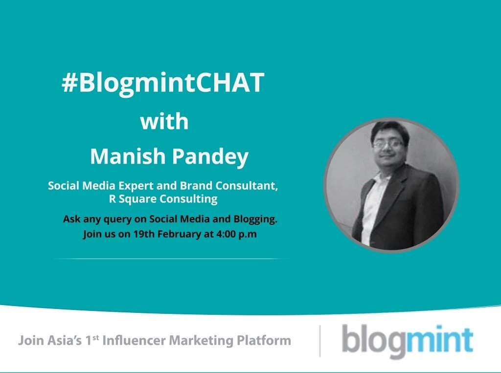 Looking forward to the #BlogmintCHAT 19th February 2016 4.00pm Lets Interact & Learn Follow @theblogmint for updates https://t.co/R9s54PMBaJ
