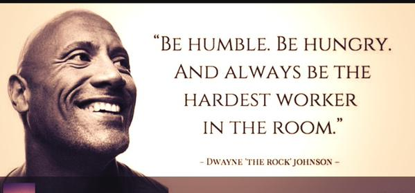 #WednesdayWisdom   GREAT ADVICE... BE HUMBLE AND ALWAYS THE HARDEST WORKER IN THE ROOM  #WorkEthic https://t.co/jUxtaEvrke