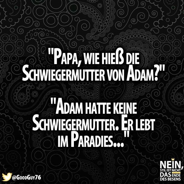 Besenstilvoll On Twitter Böse D Schwiegermutter Adam