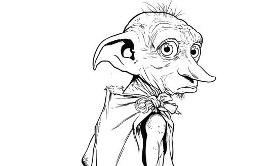 Harry Potter Gifts On Twitter Potters Dobby FREE Coloring