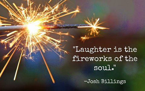 #Laughter is the fireworks of your soul.    #JoyTrain #BeHappy #Joy  #MentalHealth #Mindfulness #GoldenHearts #IAM #ChooseLove #Quote #IAMChoosingLove #TuesdayMorning #TuesdayThoughts #TuesdayMotivation RT @AllegroToday