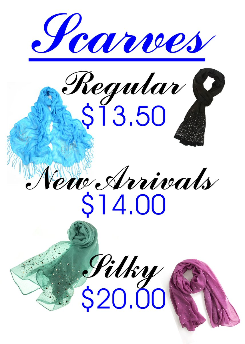 #SCARF #SALE Perfect for warmth or style! Drop in to see our selectionpic.twitter.com/aZg9PdeTdg