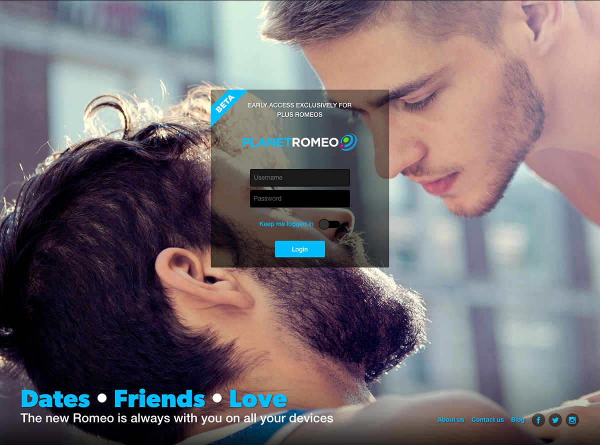 Planetromeo login mobile