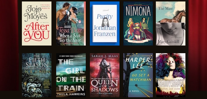 Scout Finch, Celaena Sardothien & more nominees for best lead of 2015 in the Bookish Oscars https://t.co/XvPIdHguk2 https://t.co/TxnZCY0uV2