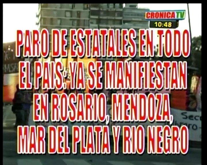 Thumbnail for Paro Nacional de ATE: Cortes en Rio Negro