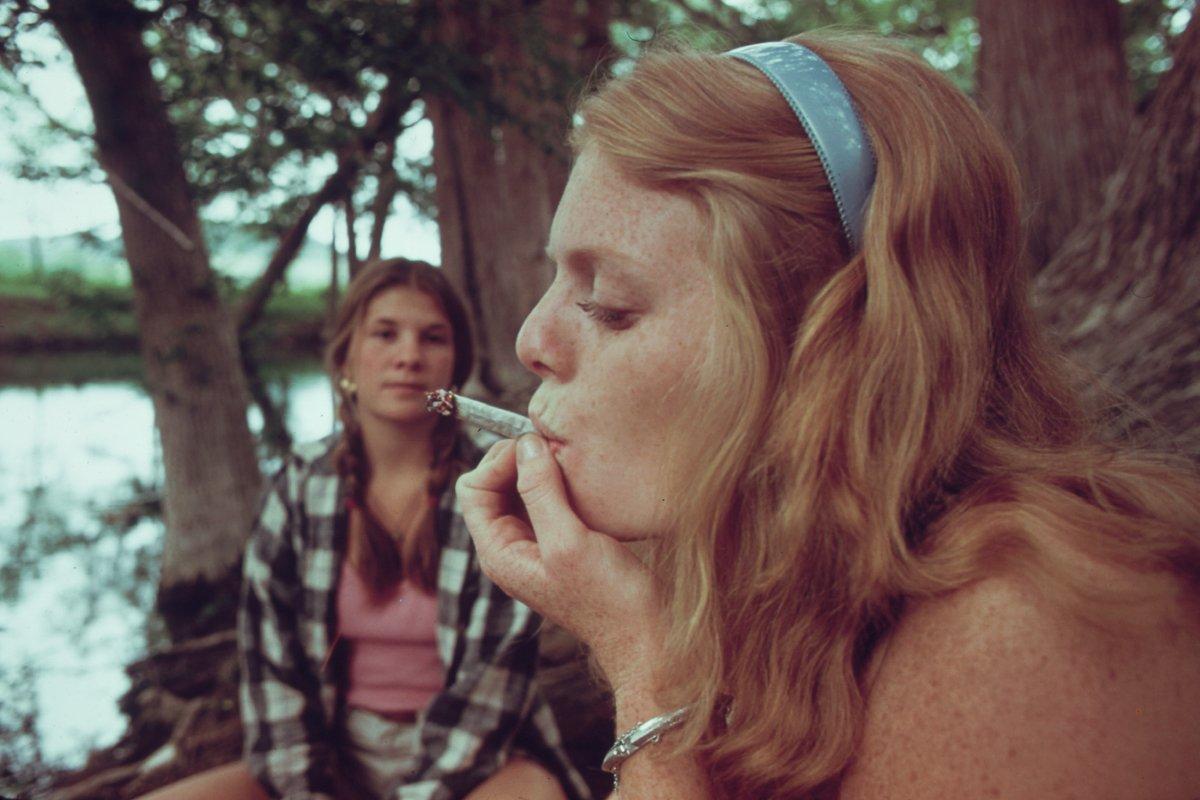 Teens getting high