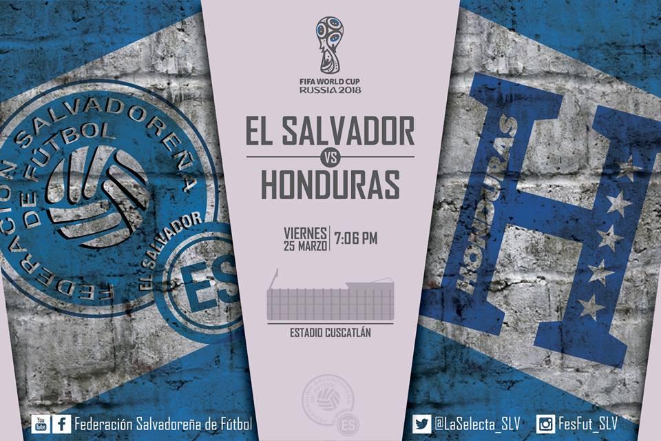 Rusia 2018: El Salvador vs Honduras en el Cuscatlan el 25 de marzo del 2016.  Informacion del juego. Cb_wRKxUcAElyRl