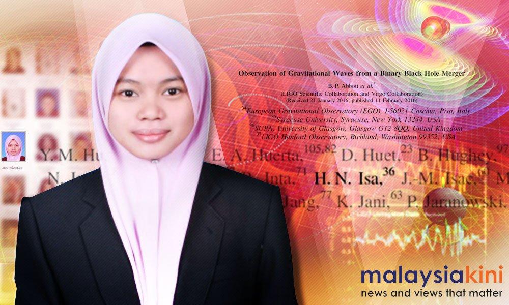 Saintis Malaysia antara yang buktikan teori gelombang graviti https://t.co/e3ACAtZEwA https://t.co/RCCgW4amIB