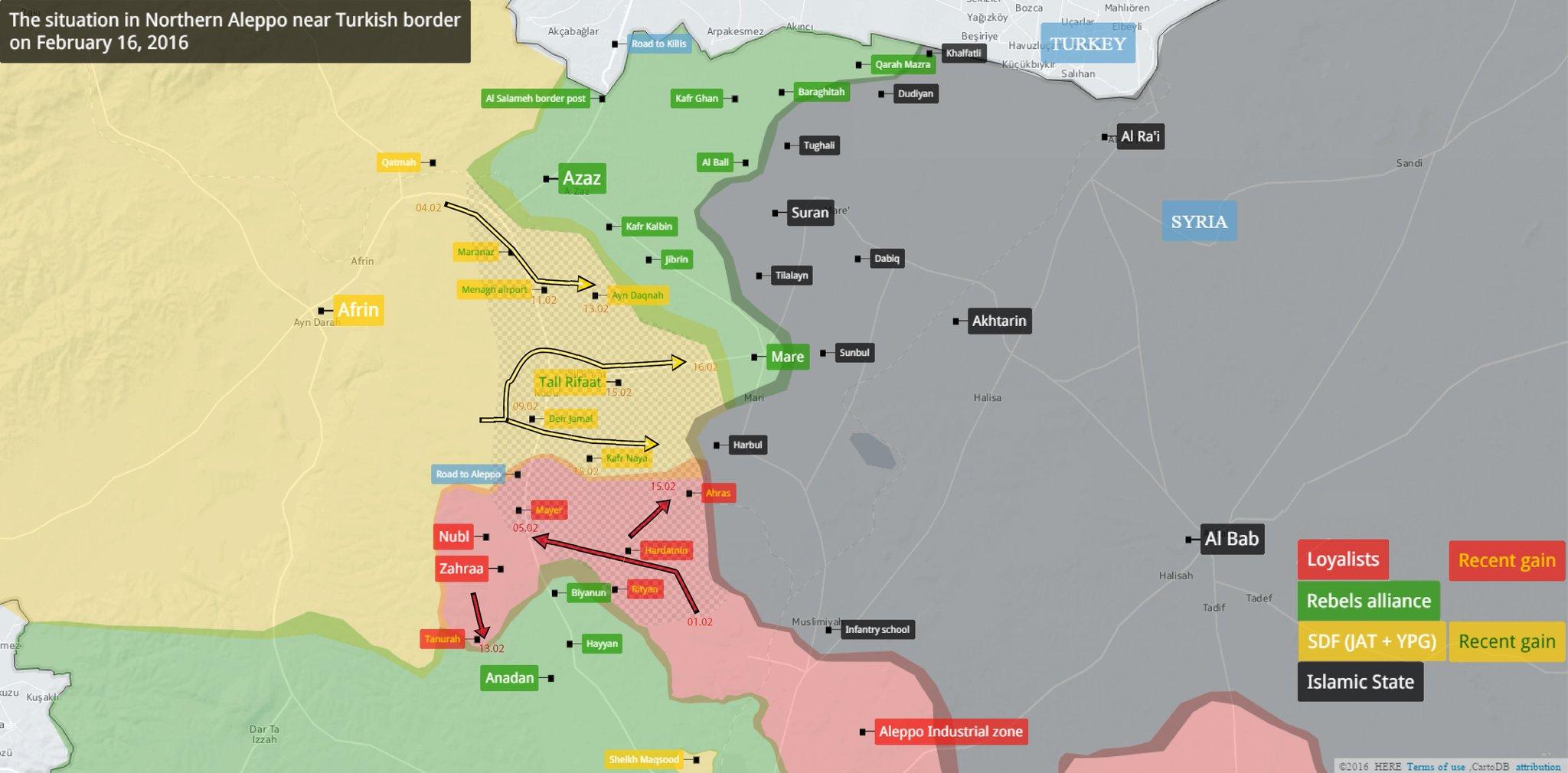 Сводка боёв в Сирии и теракты в Турции