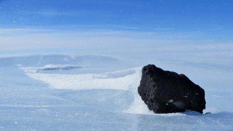 In Antartide un'immensa riserva di meteoriti