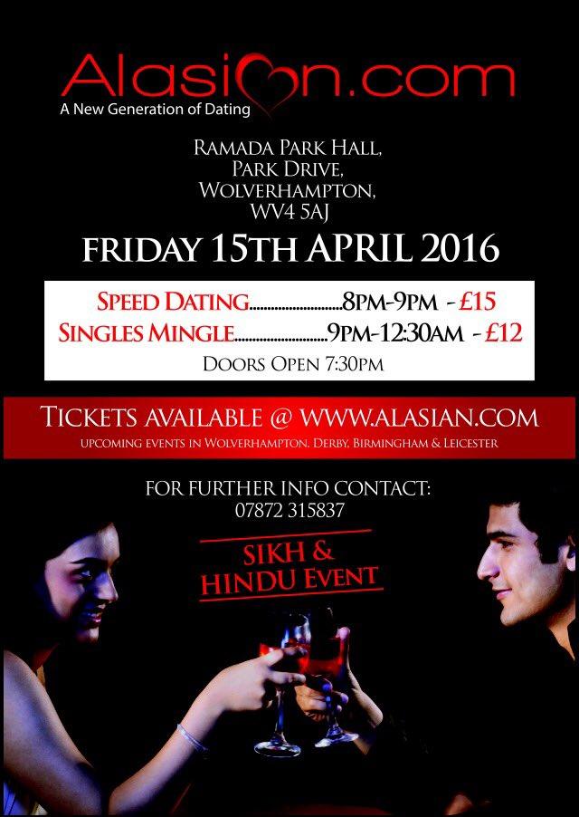 Asian Speed Dating w Birmingham