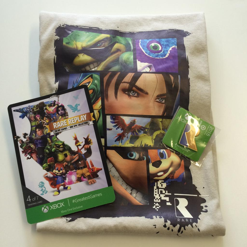 Win yourself some #RareReplay goodies! Just follow & RT for a chance to win. You have 24hrs to enter #WinWednesday https://t.co/D50oJoXynv
