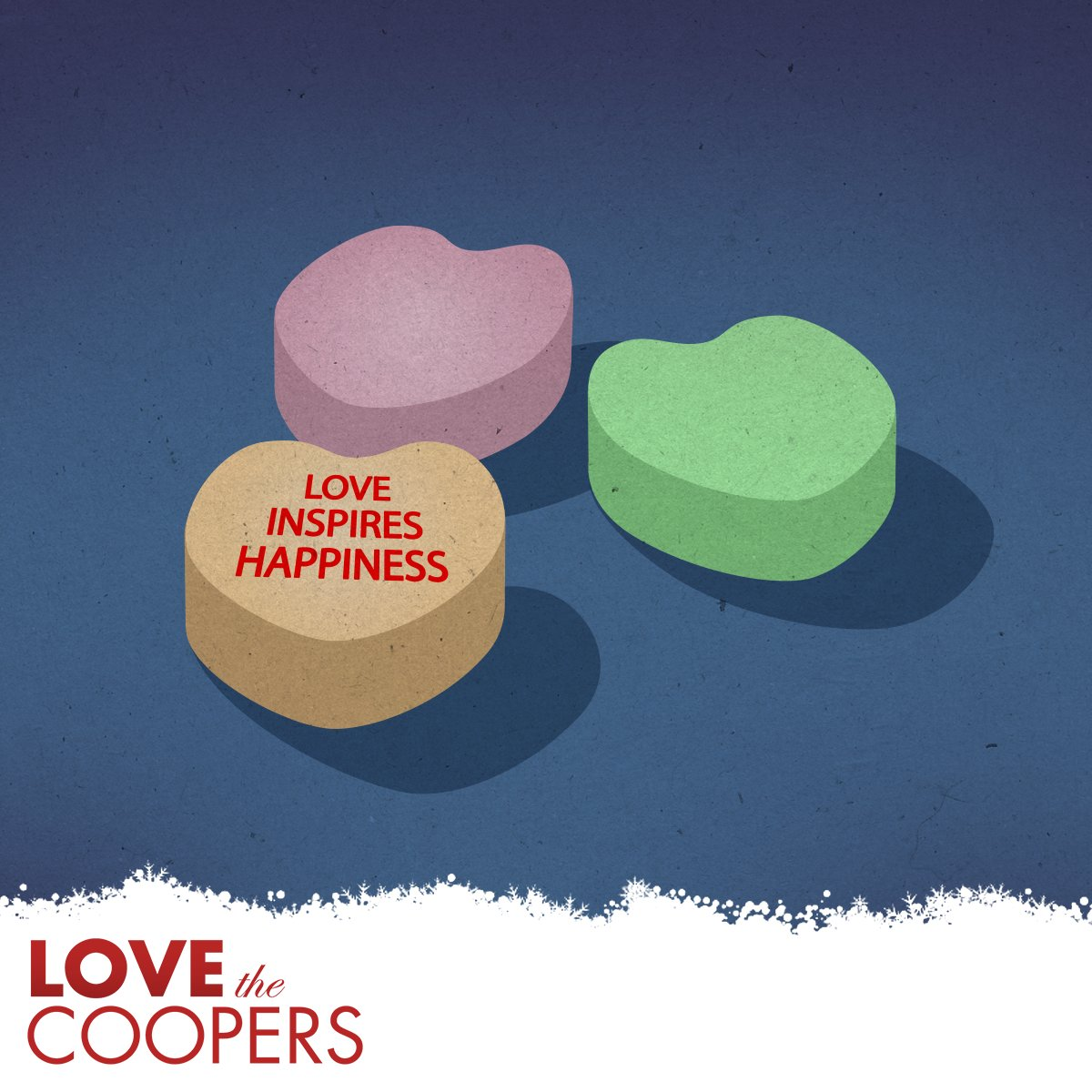 Always follow your heart. Especially if it's made out of candy.  #LoveTheCoopers https://t.co/AYHukXeNbt