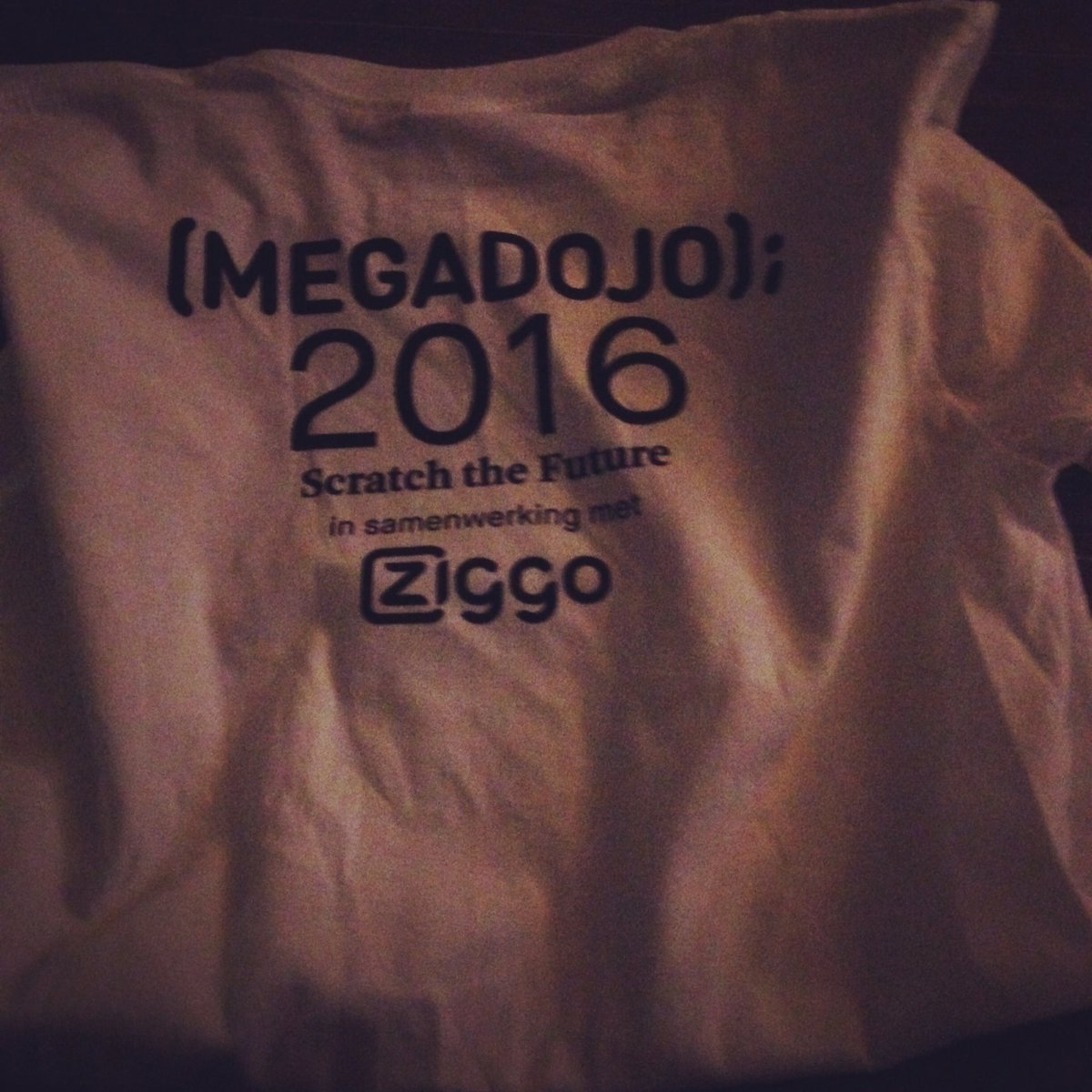 #megadojonl #Scratchthefuture  #ziggodome super georganiseerd! https://t.co/HXt2gfQxj4