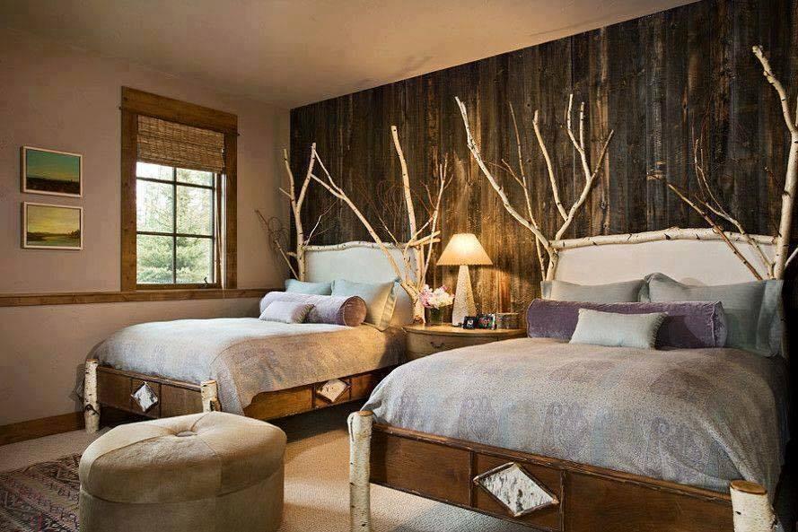 "raumideen on twitter: ""#schlafzimmer im #rustikale, Deko ideen"