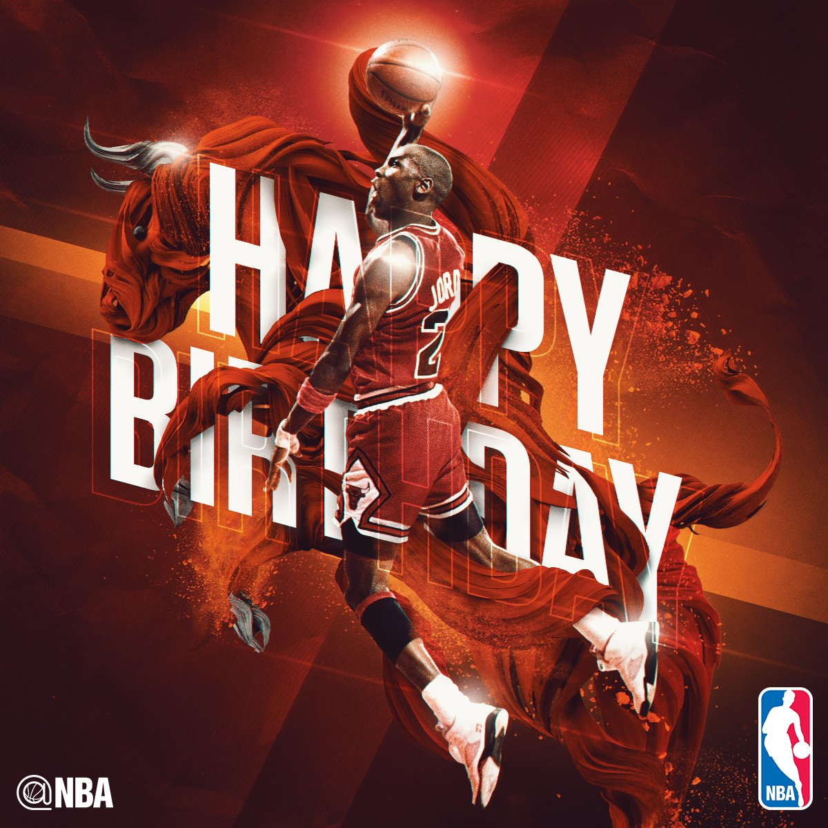 NBA on Twitter Join us in wishing MICHAEL JORDAN a HAPPY 53rd – Michael Jordan Birthday Card