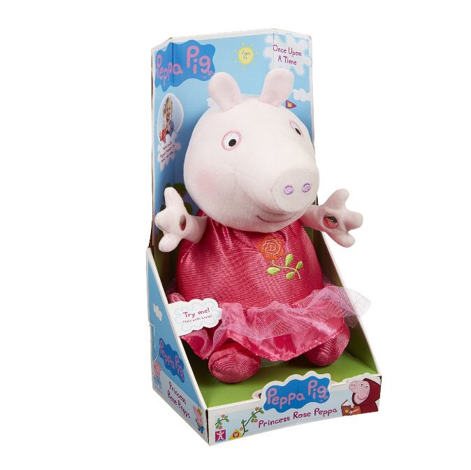 Win this fantastic Peppa Pig toy, just give us a follow and RT before 8pm tonight #RandomActsOfKindnessDay #oink https://t.co/L2NVk4UImx